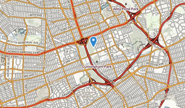 Cunningham Park Map