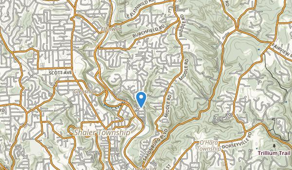 D Miller Fall Run Park Map