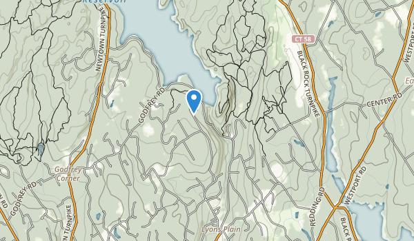 trail locations for Devils Glen Park