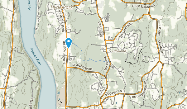 Eleanor Roosevelt Ntl His Site Map