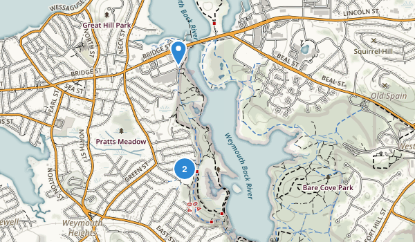Great Esker Park Map