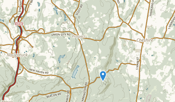 trail locations for Hotchkiss Field