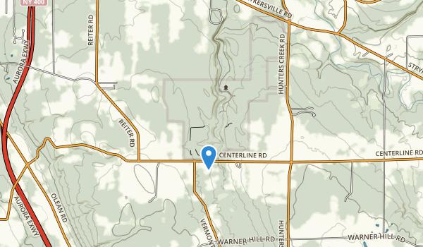 Hunters Creek County Park Map