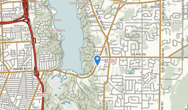 Irondequoit Bay Park East Map
