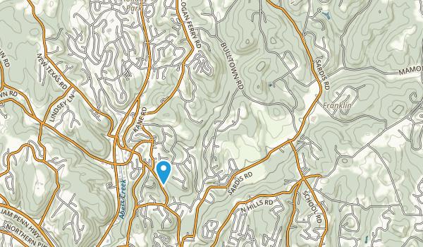 James E Townsend Park Map