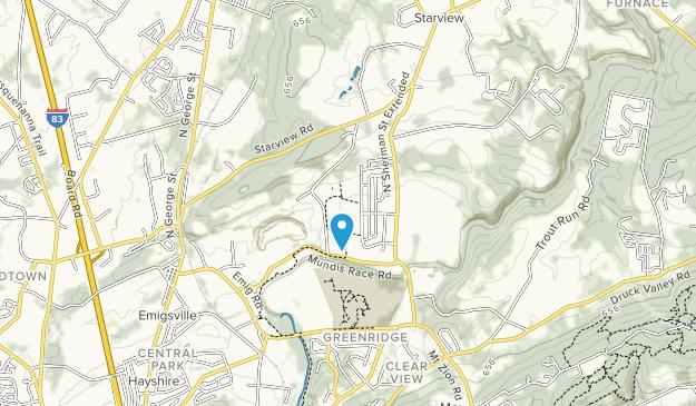 John Rudy County Park Map