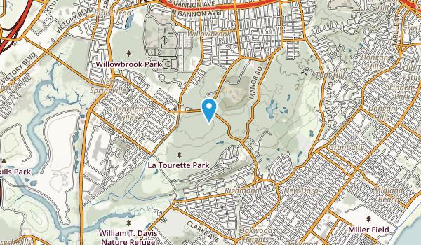 Latourette Park Map