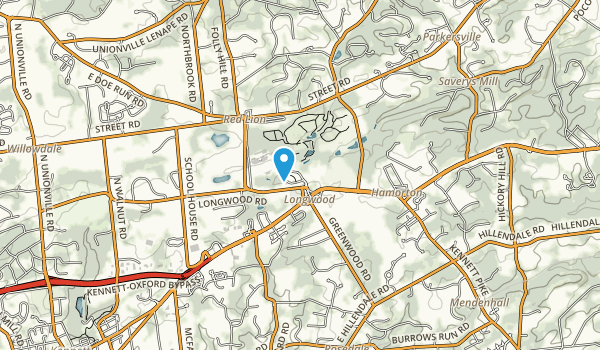 Longwood Gardens Map