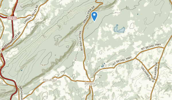 trail locations for Memorial Park