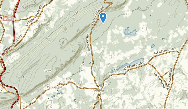 Memorial Park Map