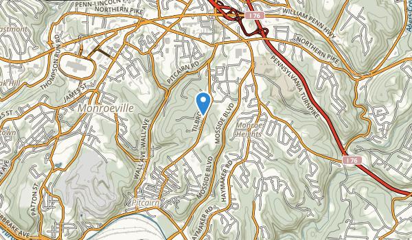 Monroeville Park Map