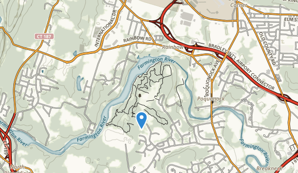 trail locations for Northwest Park