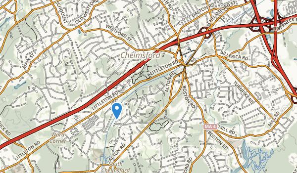 trail locations for Penham Park