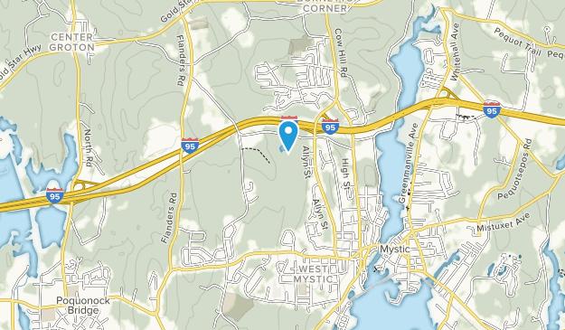 Pequot Woods Public Area Map