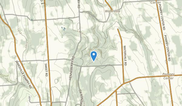 Pratts Falls County Park Map