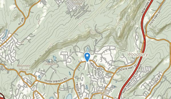 trail locations for Schunnemunk Park