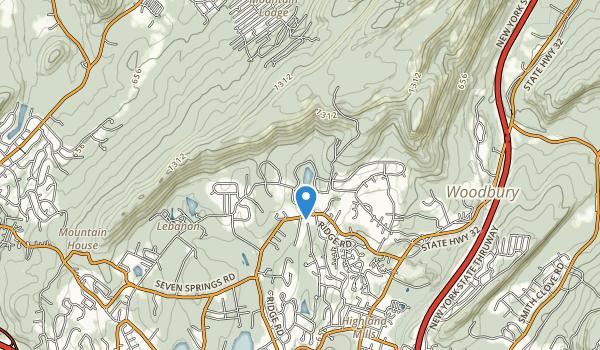 Schunnemunk Park Map
