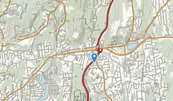 Shrub Oak Memorial Park Map