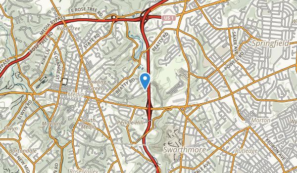 Smedley Park Map