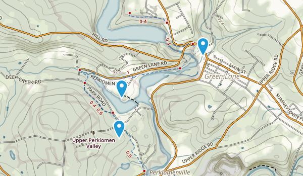 Upper Perkiomen County Park Map