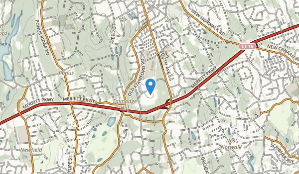 trail locations for Waveny Park