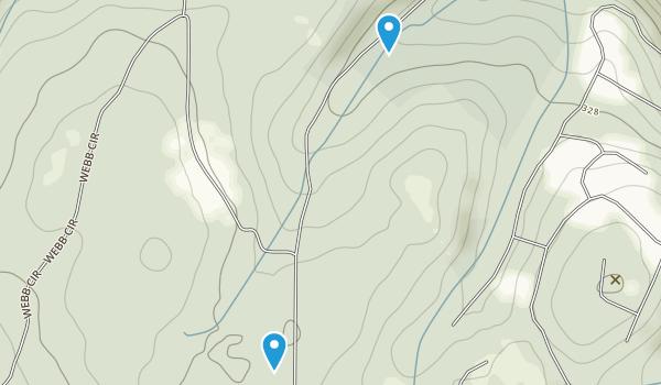 Webb Mountain Park Map