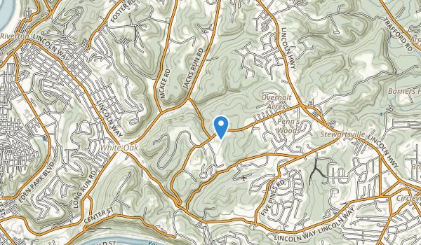White Oak Regional Park Map