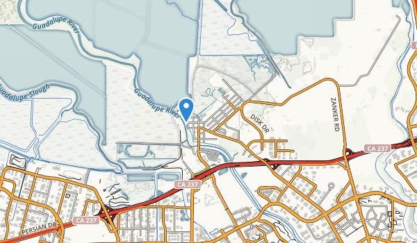 Alviso Park Map