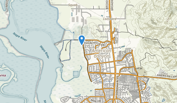 American Canyon Comm Park Map