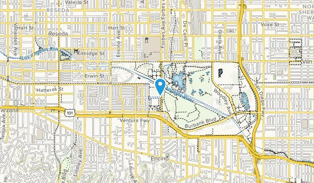 Balboa Sports Center Map