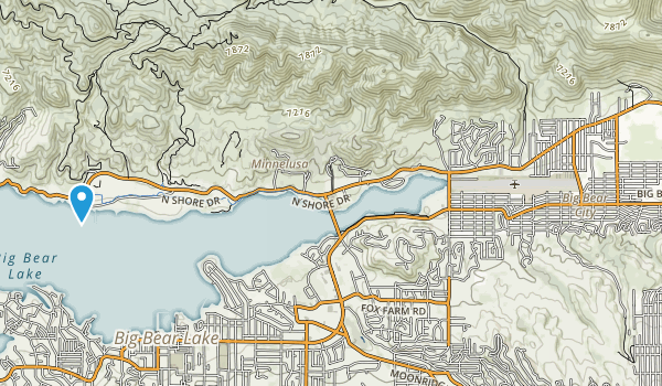 Big Bear City Park Map