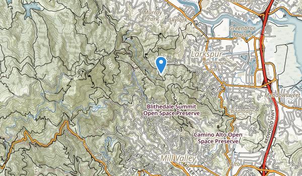 Blithedale Park Map