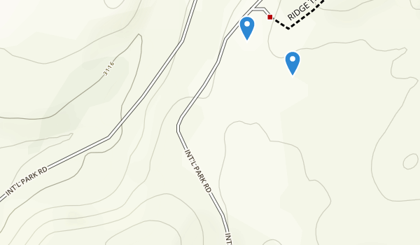 trail locations for Bogart County Park