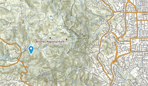 Brookwood Park Map