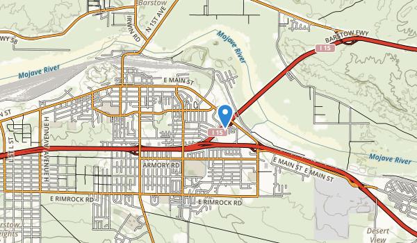 Cameron Park Map