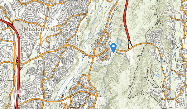 trail locations for Camino Largo Park