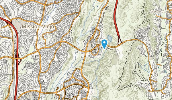 Camino Largo Park Map