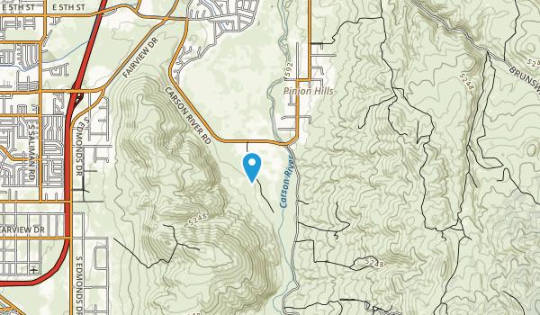 Carson River Park Map