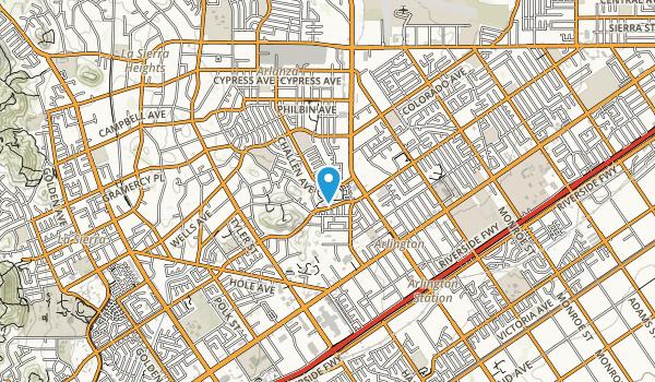 Challen Hill Park Map