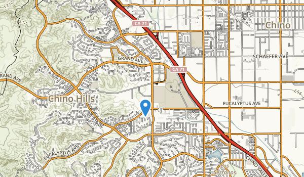 Chino Hills Community Park Map