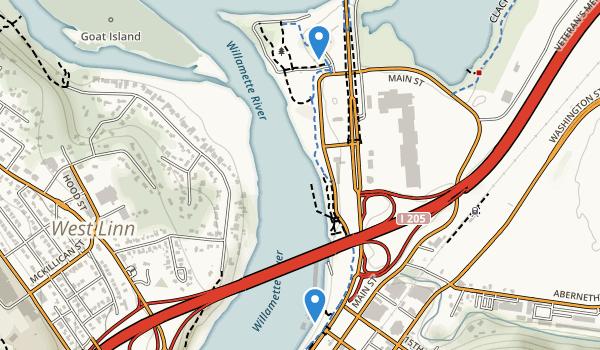 Clackamette Park Map