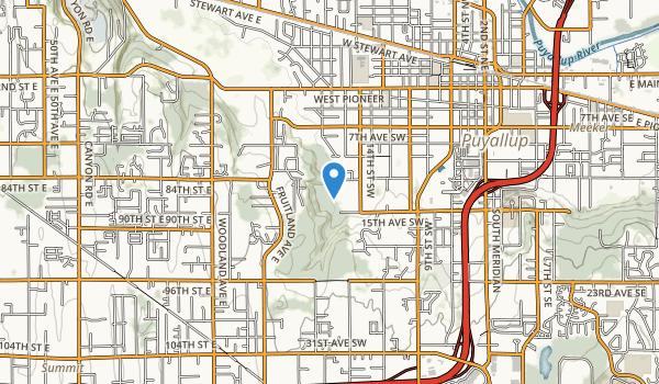 Clarks Creek Park Map