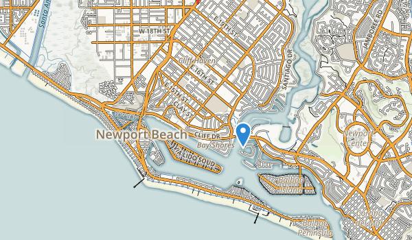 Cliff Drive Park Map