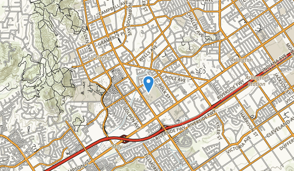 Collett Park Map