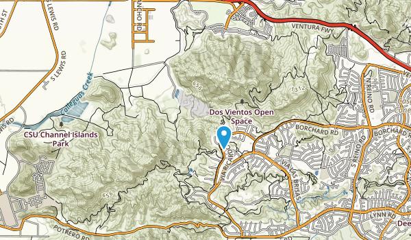 Conejo Mtn Mem Park Map
