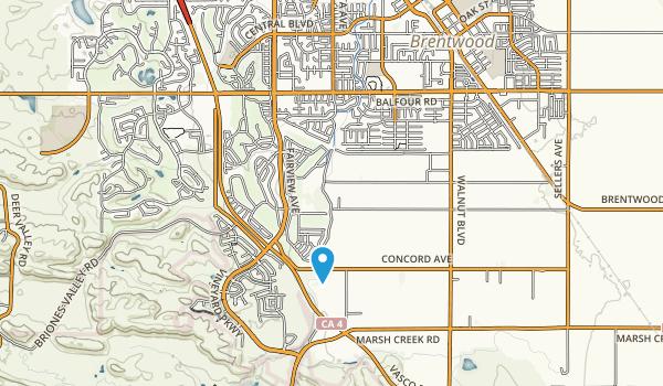 Creekside Park Map
