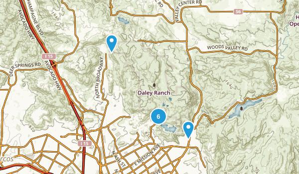 Daley Ranch Map