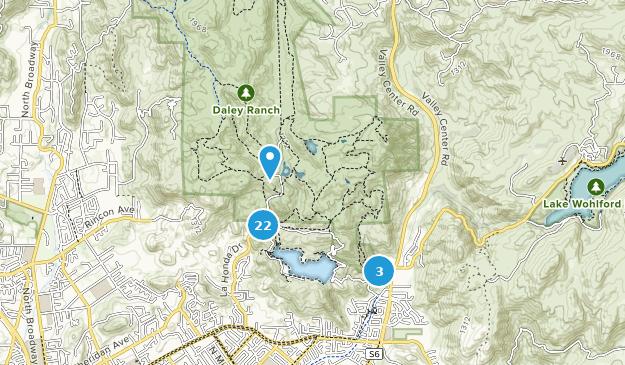 Kalifornien Karte Pdf.Beste Wege In Daley Ranch Kalifornien Alltrails