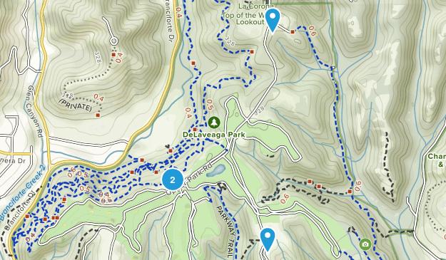 De Laveaga Park Map