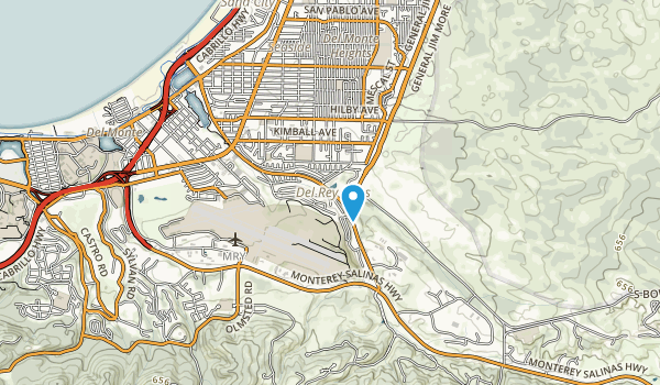 Del Rey Park Map